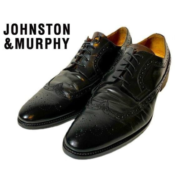 Johnston and Murphy Italian Wing Tip Shoes